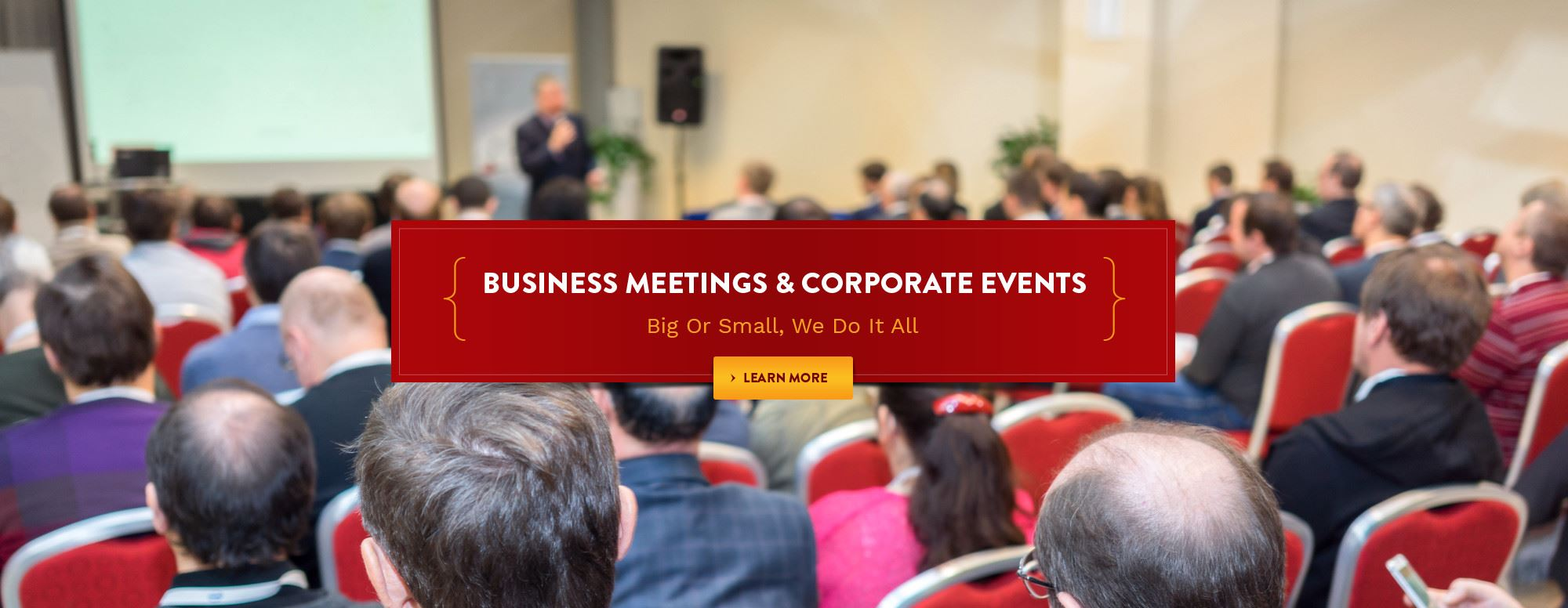 Business Meetings and Corporate Events