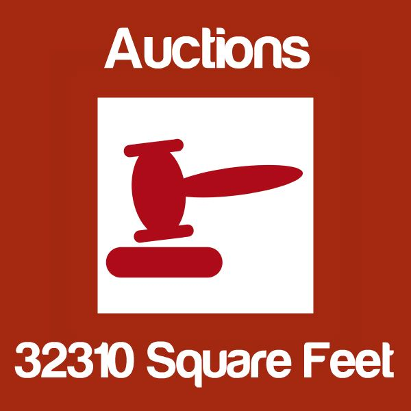 Auctions Up To 32310 Square Feet Icon