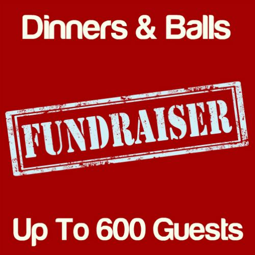 Fundraising Dinners & Balls Up To 600 Guests Icon