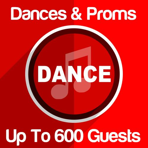 Dances & Proms Up To 600 Guests Icon