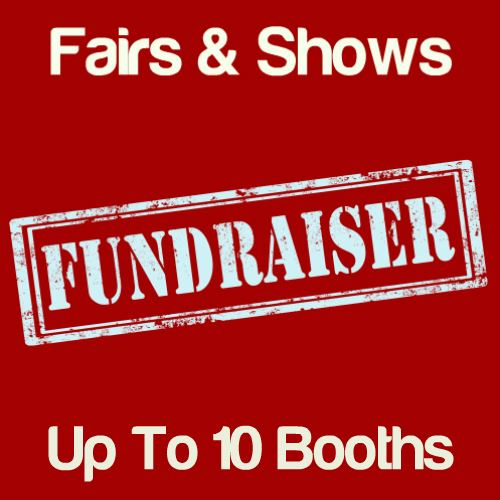 Fundraiser Fairs & Shows Up To 10 Booths Icon
