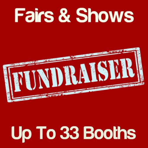 Fundraiser Fairs & Shows Up To 33 Booths Icon