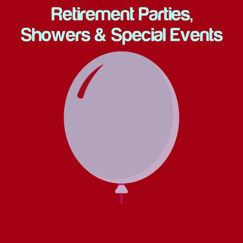 Retirement Parties, Showers & Other Special Events Icon
