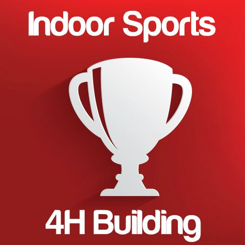Indoor Sporting Events: 4H Building Icon