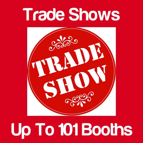 Trade Shows Up to 101 Booths Icon