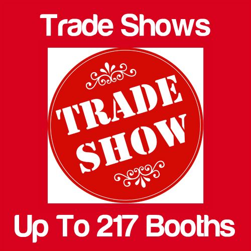 Trade Shows Up to 217 Booths Icon