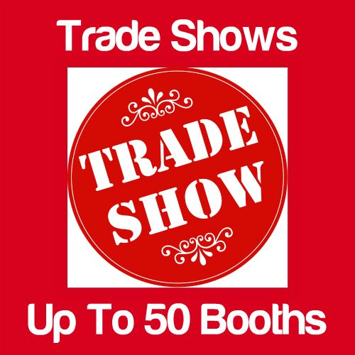Trade Shows Up to 33 Booths Icon