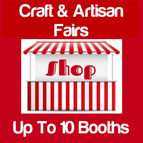 Craft & Artisan Fairs Up To 10 Booths Icon
