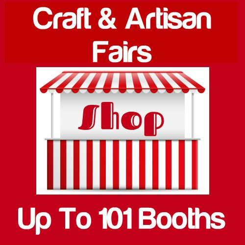 Craft & Artisan Fairs Up To 101 Booths Icon