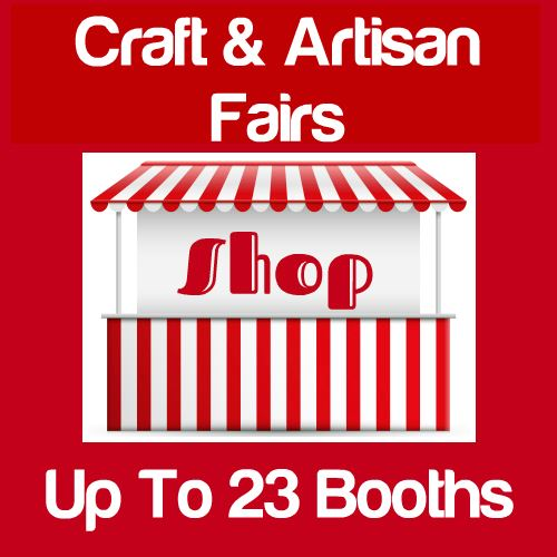 Craft & Artisan Fairs Up To 23 Booths Icon