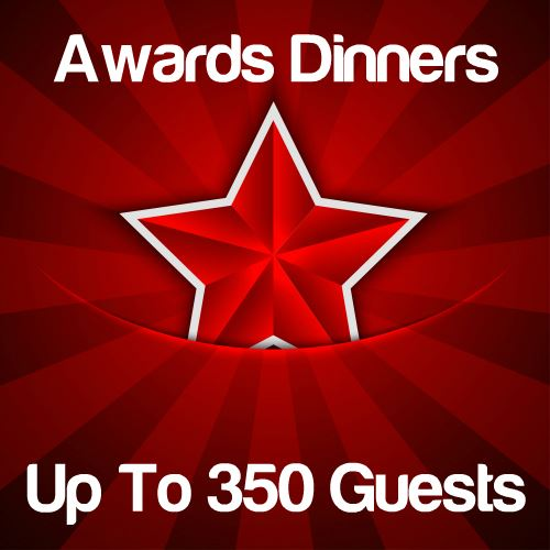 Awards Dinners Up to 350 Guests Icon
