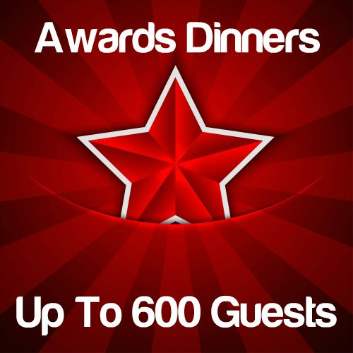 Awards Dinners Up to 600 Guests Icon