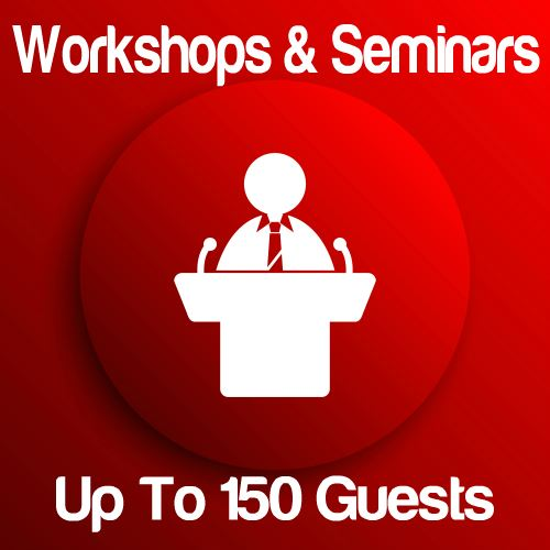 Workshop Up To 150 Guests Icon