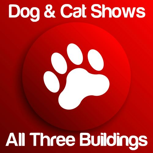 Dog & Cat Shows: Expo Main, Expo East & 4H Buildings Icon