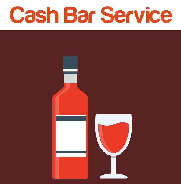 Learn about our cash bar package