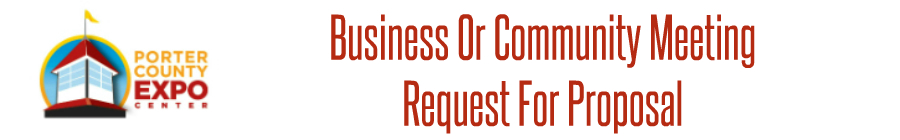 Business Meeting Request For Proposal Form Banner