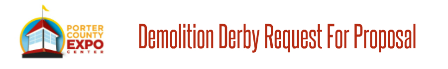 Demolition Derby Request For Proposal Form Banner