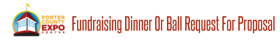 Fundraiser Dinner Request For Proposal Form Banner