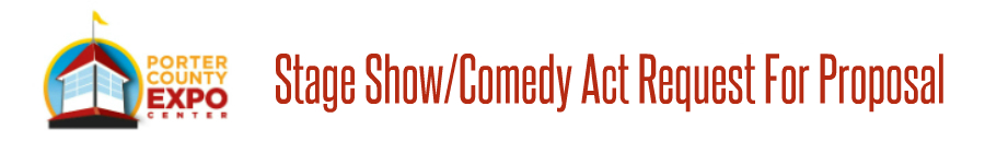 Stage Show Or Comedy Act RFP Form Banner