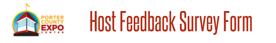 Host Feedback Survey Form Banner